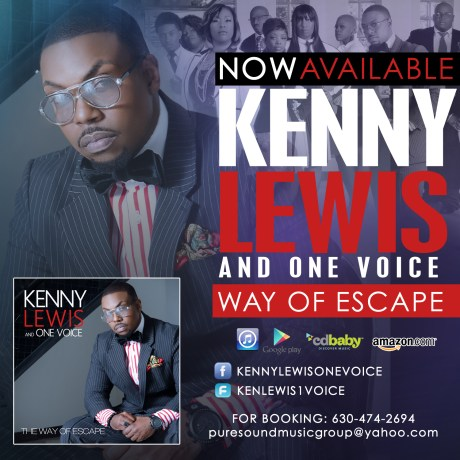Kenny Lewis and One Voice - Way of Escape