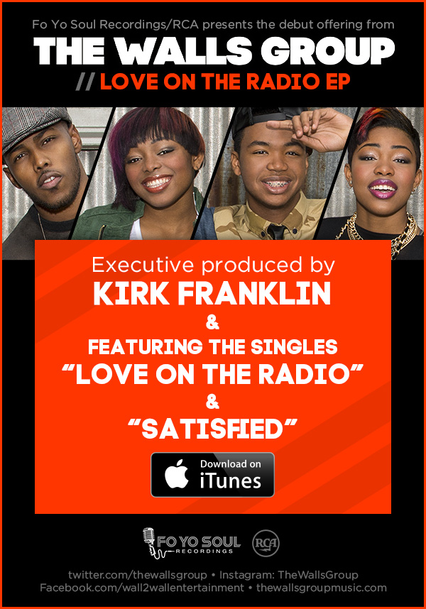THE WALLS GROUP // Love On The Radio EP // Available On iTunes !!!