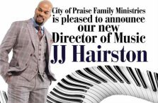 J Hairston Appointed Music Director At City of Praise Family Ministries