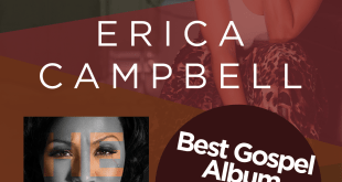 Erica Campbell Wins A Grammy® Award For Best Gospel Album, Help!
