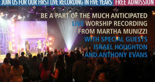 Martha Munizzi - Live Recording - June 26, 2015 in Miami, FL