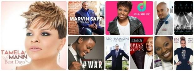 Billboard Gospel Airplay - Week Of June 27, 2015