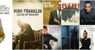 Top 10 Gospel Albums 2015 by Christopher Heron