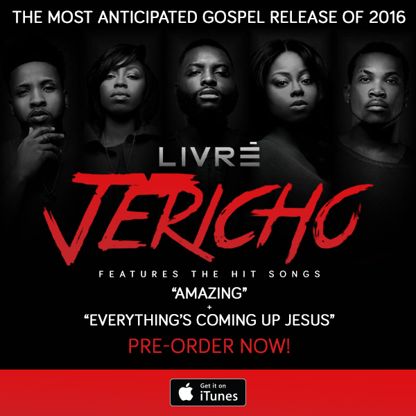 Pre-Order LIVRE's Highly Anticipated Album Jericho: Tribe of Joshua Album Now !!!