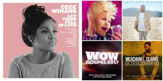 Week of February 25, 2017 Billboard Top Gospel Albums: CeCe