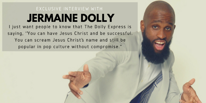 Jermaine Dolly talks church & Jesus, music, ministry & more. | @JermaineDolly