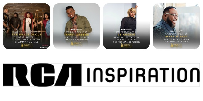 RCA INSPIRATION CELEBRATES 2018 GRAMMY® AWARD NOMINATIONS
