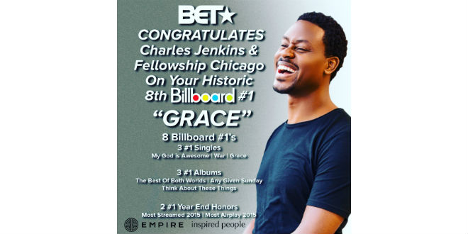 Charles Jenkins Hits No 1 With Quot Grace