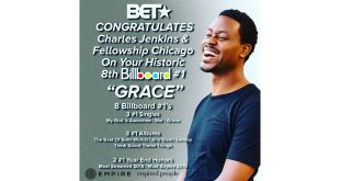 "Charles Jenkins Hits No. 1 With ""Grace""! 