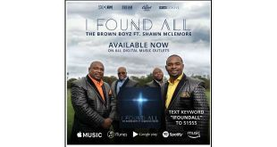 "THE BROWN BOYZ featuring Shawn McLemore, ""I FOUND ALL 