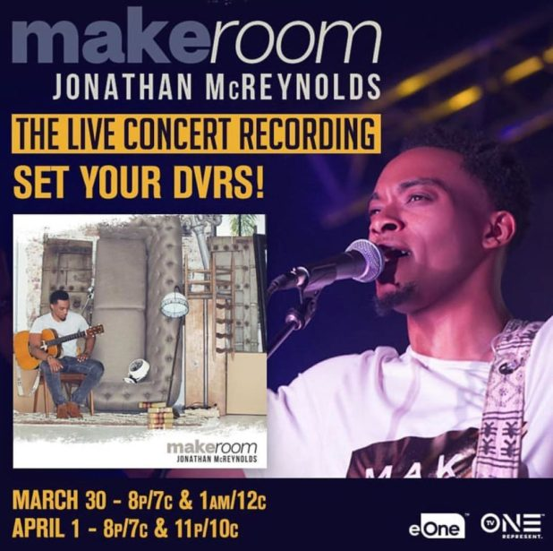 Jonathan Mcreynolds Make Room One Hour Tv Special On