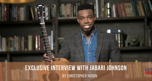 Exclusive Interview with Jabari Johnson by Christopher Heron 2018