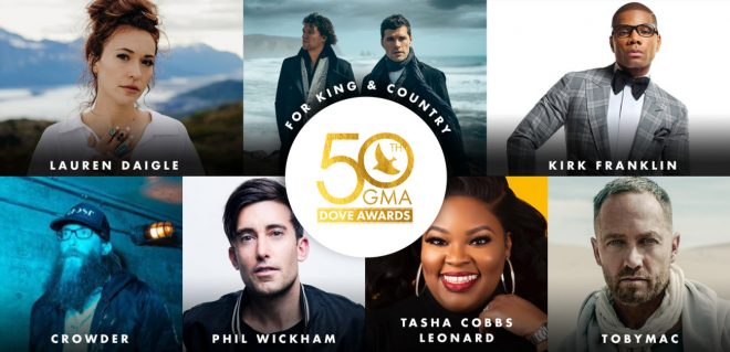 GMA announces nominees for 50th Annual @GMADoveAwards, October 15 in Nashville