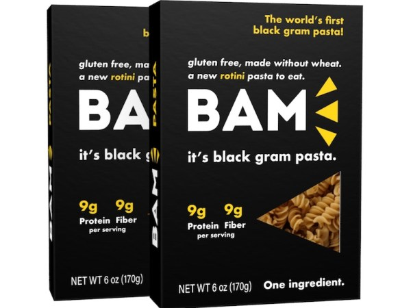 First Ever Black Gram Pasta by BAM Snacks