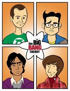 """""""The Big Bang Theory"""" print"""