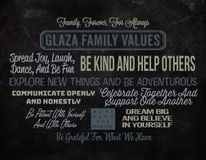 Family Values design