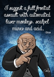 """""""Strax"""" from Doctor Who"""