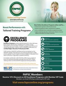 Ad for FAPSC