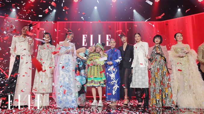Braided hair and earth color are two trends that take the throne at the red carpet ELLE Style Awards 2019