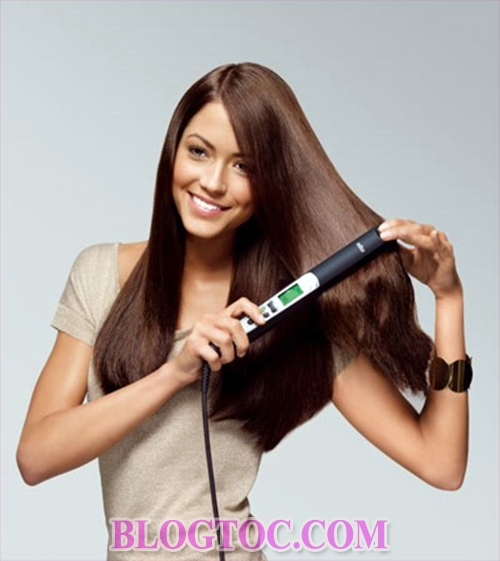 The most effective way to take care of straightener hair for girls who have this cute hair 3