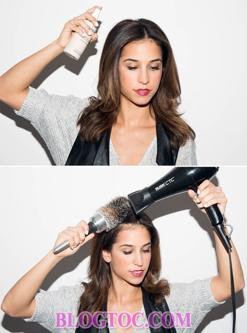 The most effective and least expensive ways to use a hair dryer 8