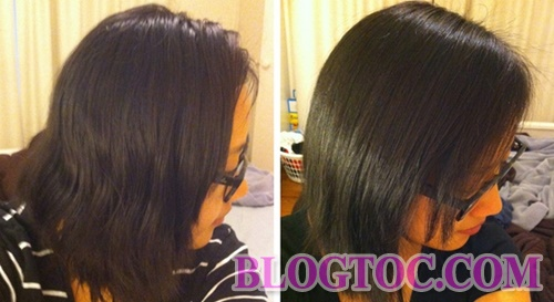 Hair care with mayonnaise for visibly soft and shiny hair 1
