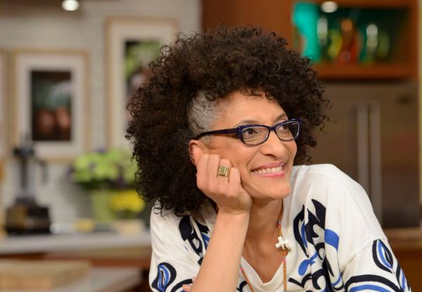 Carla Hall Says At 50 It Is Time To Embrace Her Gray Hair ...