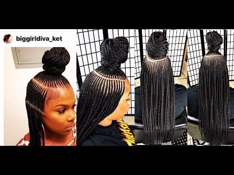 THE KET BRAID Video Black Hair Information