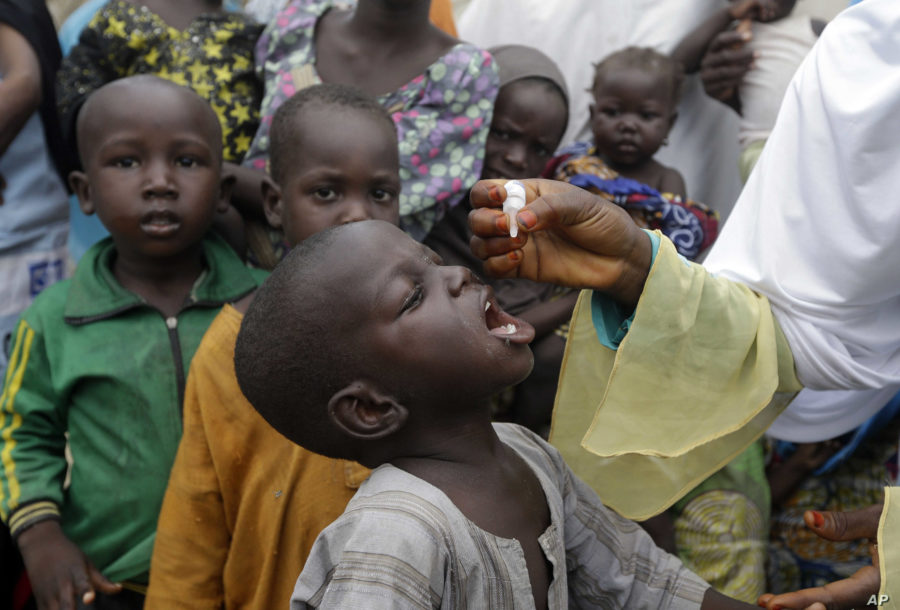 Polio outbreak in Africa due to colonial vaccine