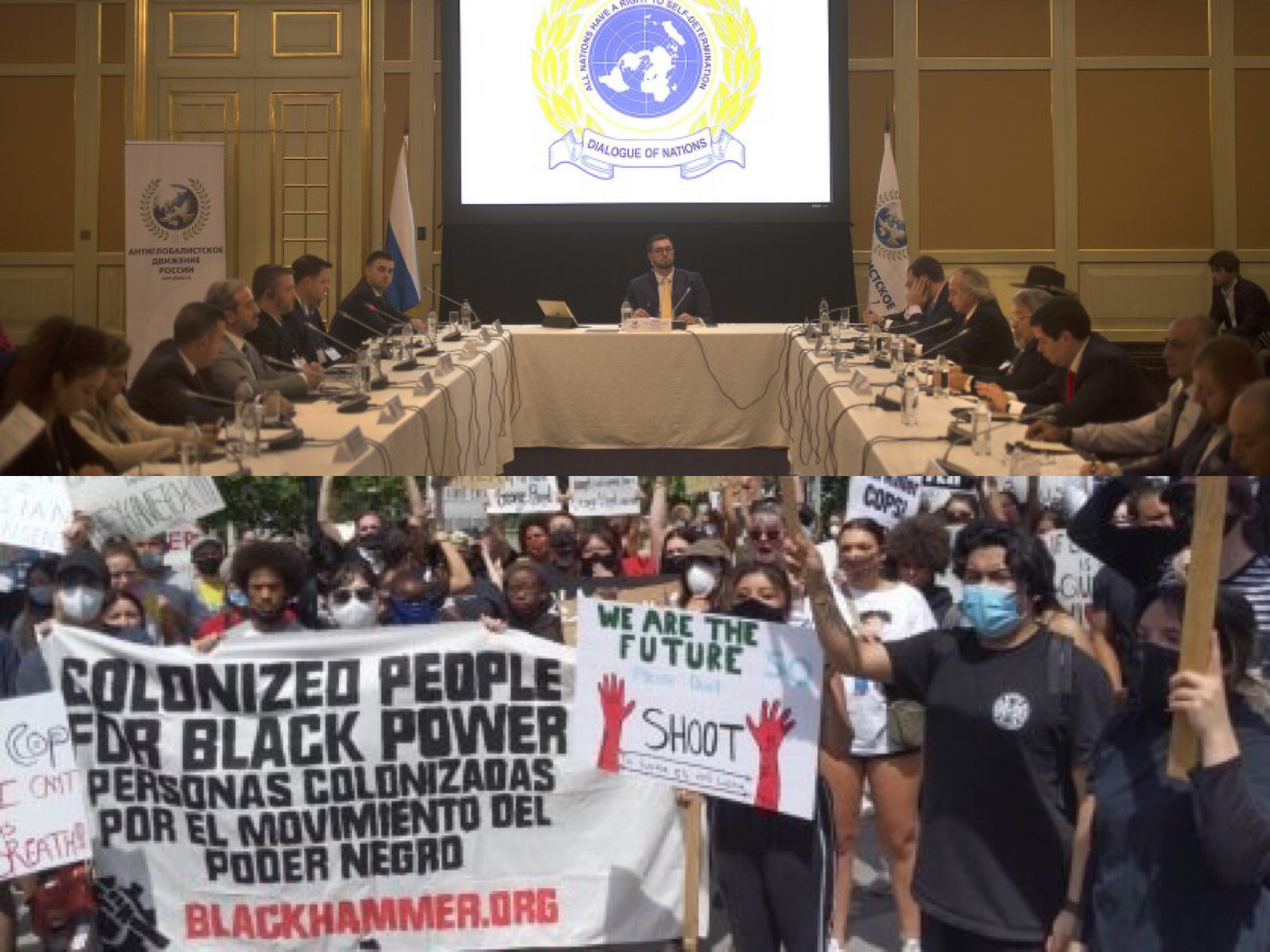 The International Human Rights Defence Committee Joins the fight against Black Genocide!