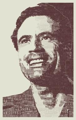 portrait of gaddafi