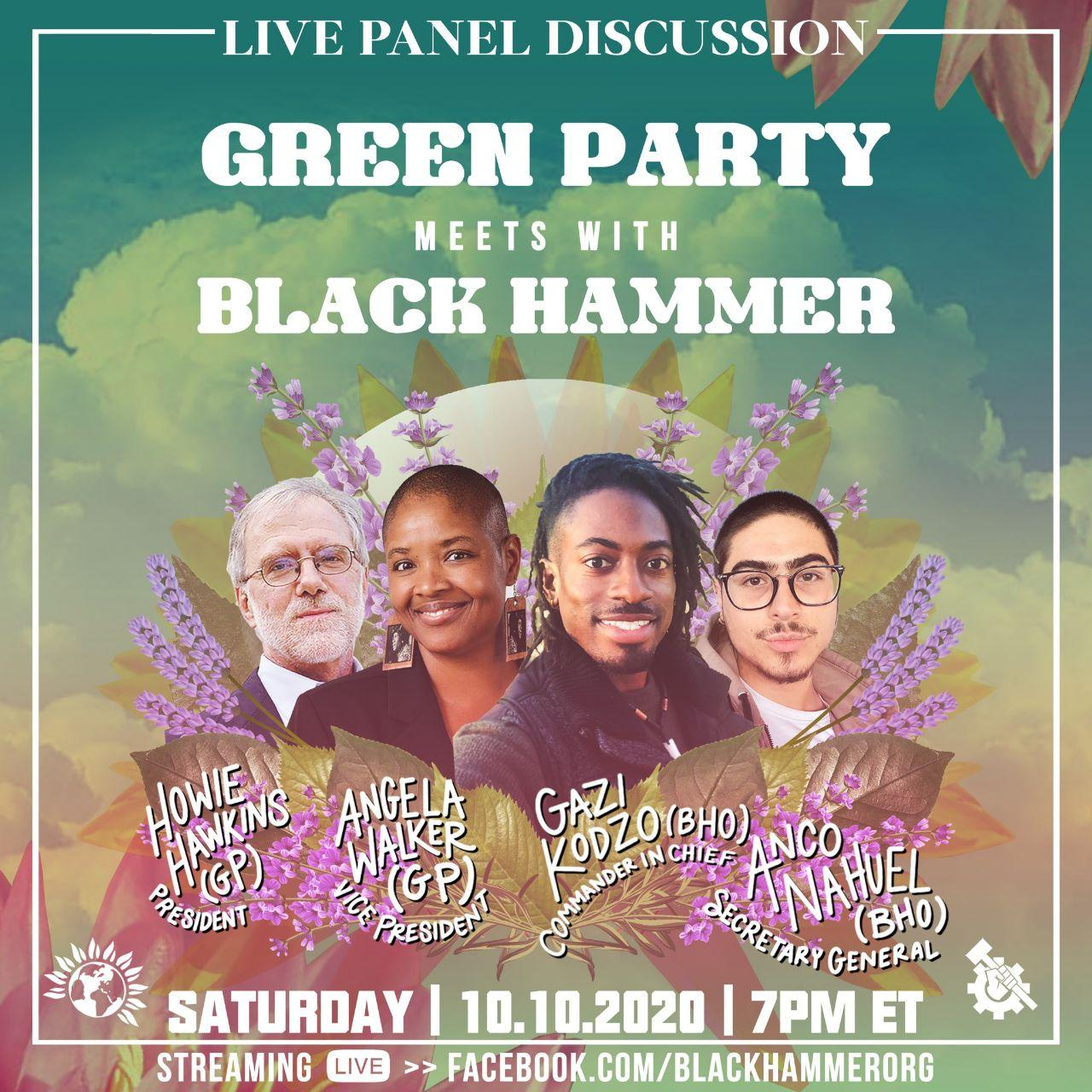 Black Hammer Debates the Green Party