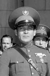 Fulgencio Batista in military garb looking like a colonial dictator