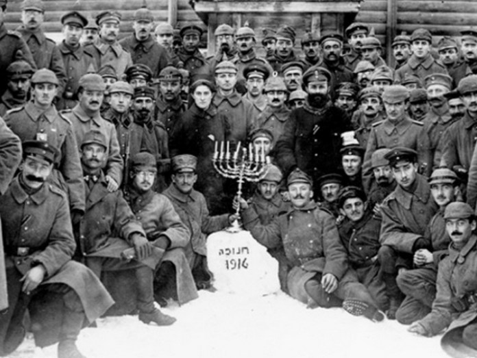 Jewish soldiers in the German Army Celebrate