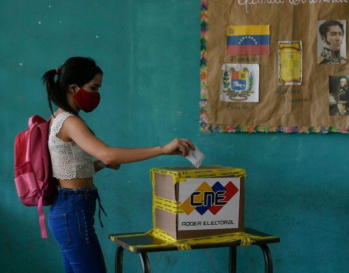 Venezuelans' voting in 2020 parliamentary elections