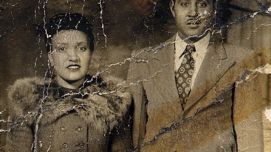 Photograph of Henrietta Lacks beside her husband, David Lacks.