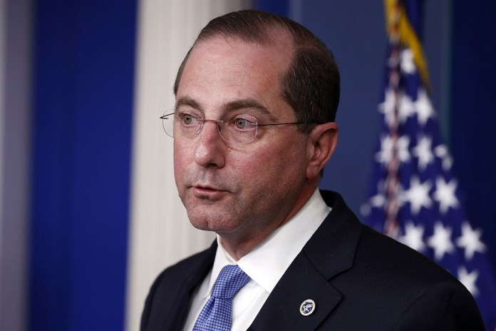 Alex Azar, former secretary of health and human services in the u.s., in his resignation later, revealed that the federal government lied about having a reserve supply of the vaccine.