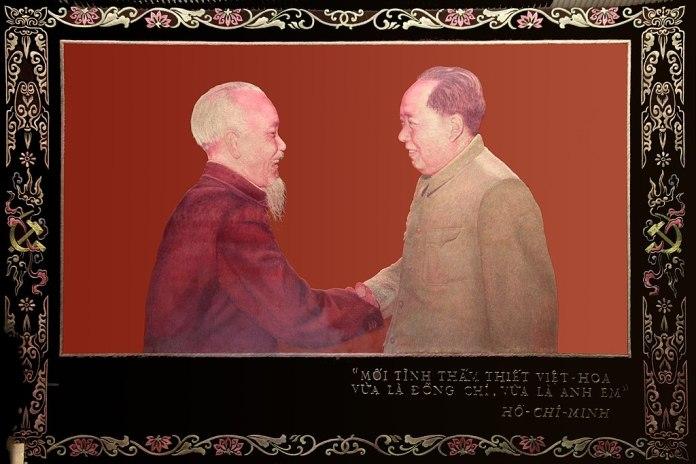 China's Solidarity With Vietnam (Ho Chi Minh and Mao)