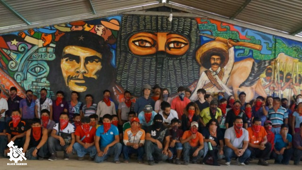 Even after the spanish invasion, 6 centuries later and  Indigenous peoples continue their protracted struggle