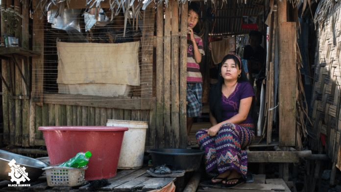 Myanmar sex workers are often also trafficked