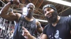 Classic: Actor Terry Crews Works Out With CT Fletcher (Video)