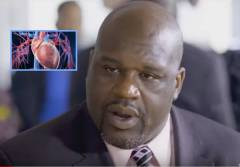 Shaquille O'Neal Talks Heart Health....Especially In The Black Community. (Video)