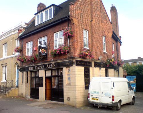 Dacre Arms Pub, near Blackheath