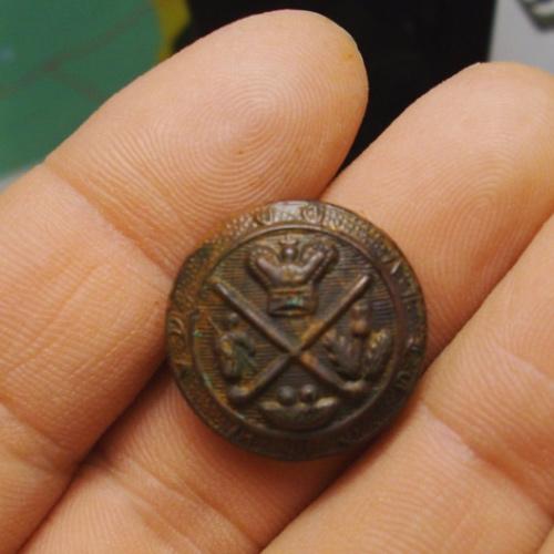 Blackheath Royal Golf Club badge discovered by Metal Detector