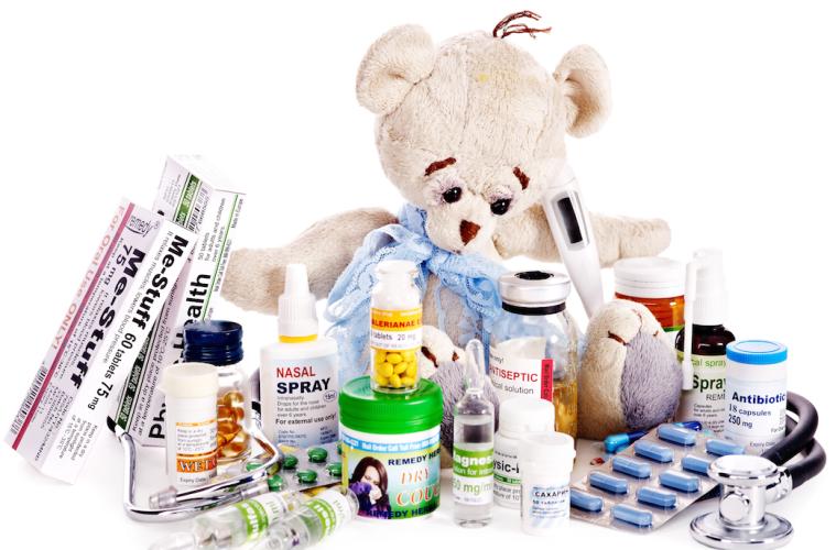 Medicine Cabinet bear