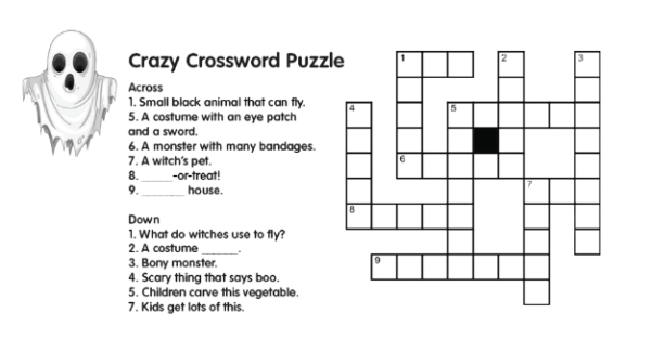 Ghosts_Crossword