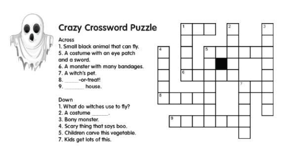 Ghosts_Crossword