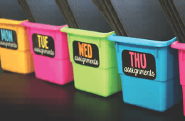 Teacher Organizing Bins