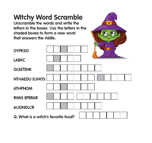 WordScramble_Witch