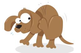 Cartoon Dog Tick